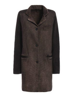 Avant Toi: short coats - Knitted wool coat