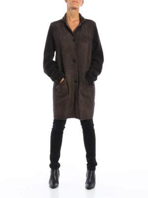 Avant Toi: short coats online - Knitted wool coat