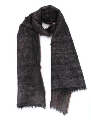 Avant Toi: Stoles & Shawls - Sahara linen hand painted stole