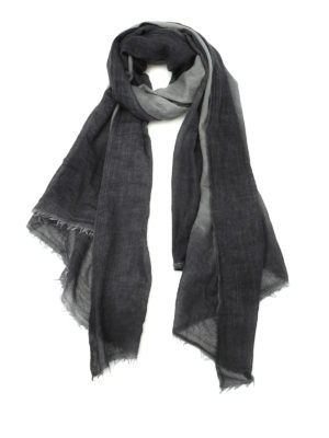 Avant Toi: Stoles & Shawls - Shaded fine cashmere stole