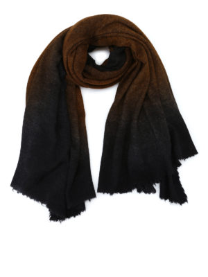 Avant Toi: Stoles & Shawls - Square knitted cashmere silk stole