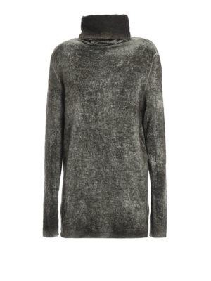 Avant Toi: Turtlenecks & Polo necks - Cashmere and silk over turtleneck
