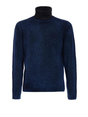 AVANT-TOI: maglia a collo alto e polo - Dolcevita in merino effetto pilling