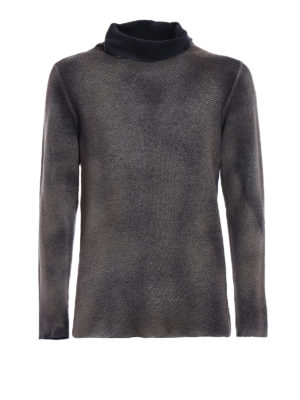 AVANT-TOI: maglia a collo alto e polo - Dolcevita sfumato merino e cashmere