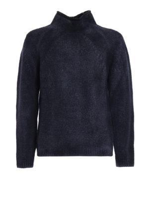 AVANT-TOI: maglia a collo alto e polo - Pull pesante in misto lana sfumata