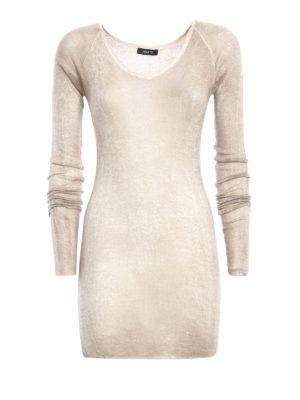 Avant Toi: v necks - Cashmere and silk fine top