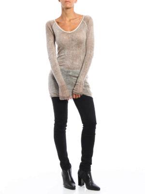 Avant Toi: v necks online - Cashmere and silk fine top
