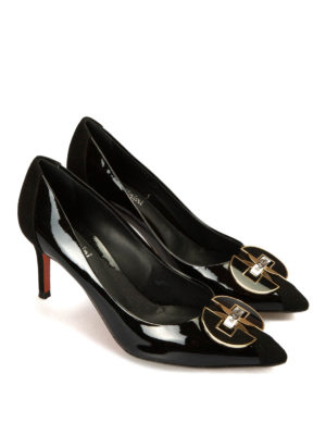 Baldinini: court shoes online - Patent leather pointy pumps