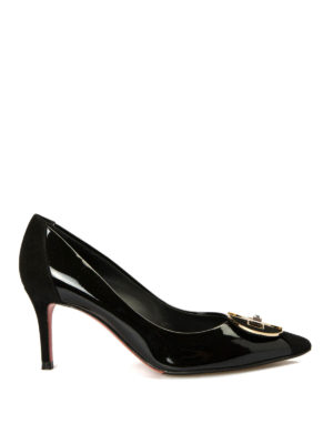 Baldinini: court shoes - Patent leather pointy pumps