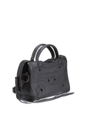 Balenciaga: cross body bags online - Blackout City extra small bag
