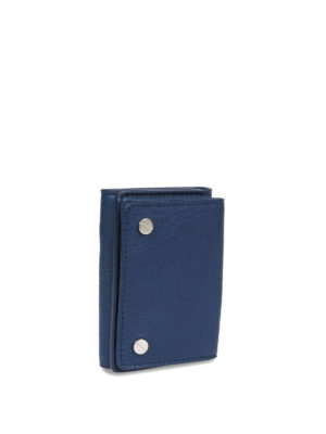 Balenciaga: wallets & purses online - Vintage effect leather wallet