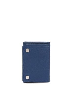 Balenciaga: wallets & purses - Vintage effect leather wallet