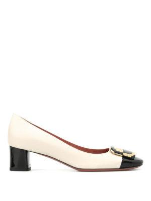 Bally: court shoes - Bergitta bicolour court shoes