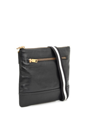 Bally: cross body bags online - Leather square cross body bag