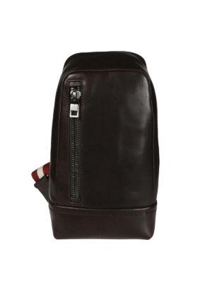 Bally: cross body bags - Tanis brown leather bag