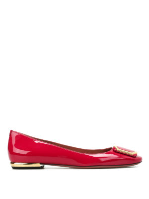 Bally: flat shoes - Blaris patent flats
