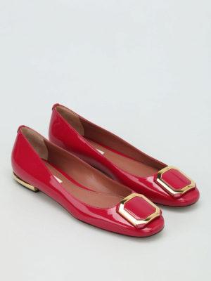 Bally: flat shoes online - Blaris patent flats