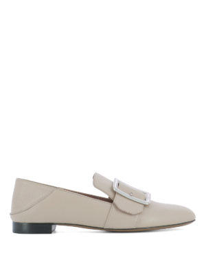 Bally: Loafers & Slippers - Janelle leather slippers