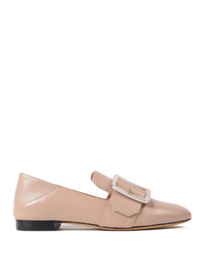 Bally: Loafers & Slippers - Janelle smooth leather loafers