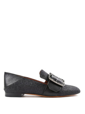 Bally: Loafers & Slippers - Janelle-Swa lurex slippers
