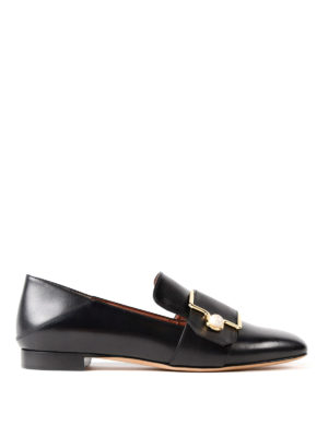 Bally: Loafers & Slippers - Maelle pearl embellishment loafers