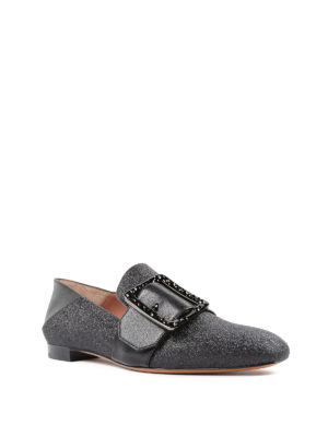 Bally: Loafers & Slippers online - Janelle-Swa lurex slippers