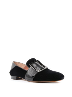 Bally: Loafers & Slippers online - Janelle-T velvet slippers