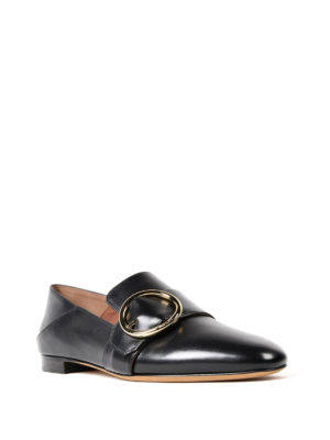 Bally: Loafers & Slippers online - Lottie black leather loafers