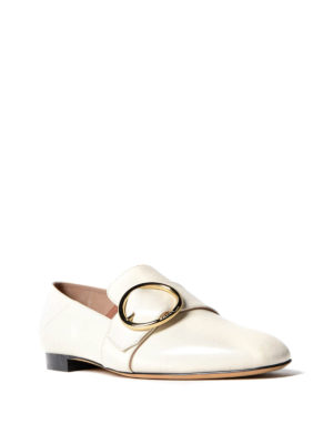 Bally: Loafers & Slippers online - Lottie white leather loafers