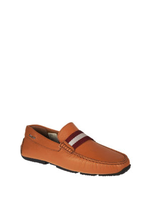 Bally: Loafers & Slippers online - Pearce leather driver loafers