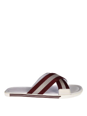 Bally: sandals - Bonks cross over sandals