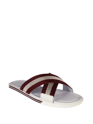 Bally: sandals online - Bonks cross over sandals