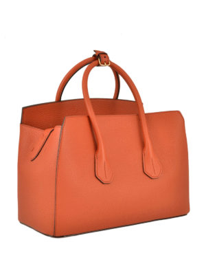 Bally: totes bags online - Sommet medium leather tote