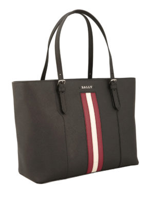 Bally: totes bags online - Supra leather tote