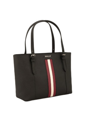 Bally: totes bags online - Supra small leather tote