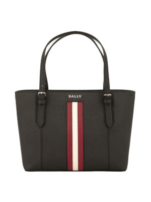 Bally: totes bags - Supra small leather tote