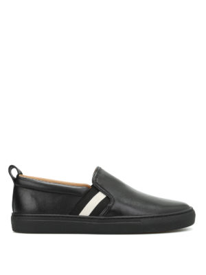 Bally: trainers - Herald leather slip-ons