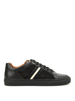 Bally: trainers - Herk band detail leather sneakers