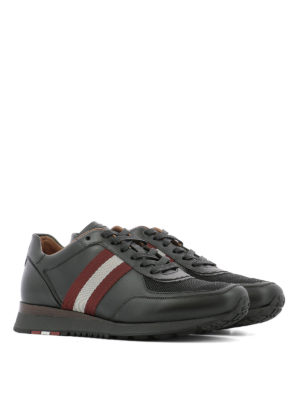 Bally: trainers online - Aston leather sneakers