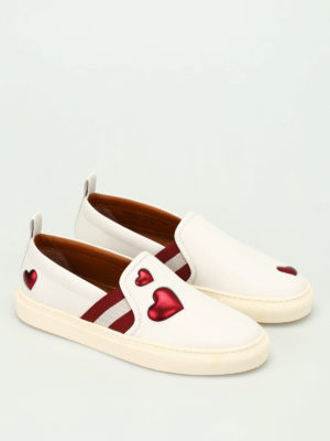 Bally: trainers online - Henrika hearts pattern slip-ons