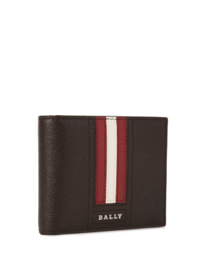 Bally: wallets & purses online - Tarrish brown leather wallet