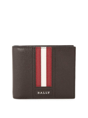 Bally: wallets & purses - Tarrish brown leather wallet