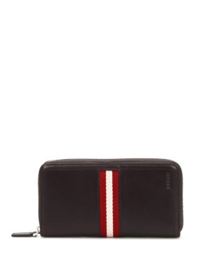 Bally: wallets & purses - Tasyo zip-around wallet