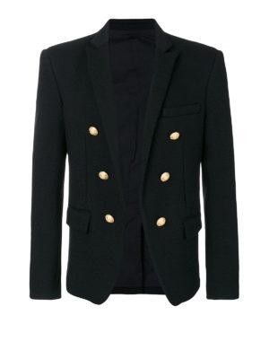 Balmain: blazers - Cotton livery blazer