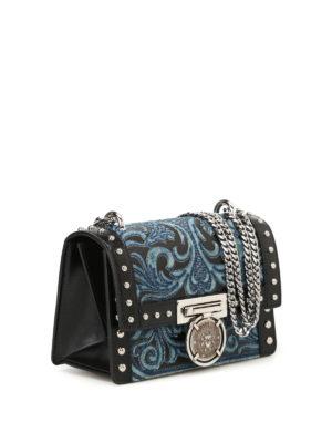 Balmain: cross body bags online - Bbox 20 leather bag