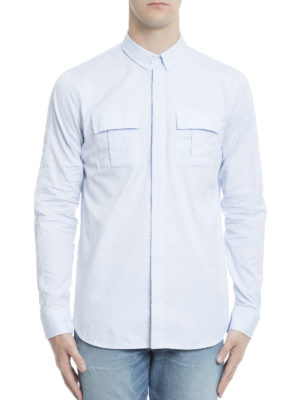 Balmain: shirts online - Cotton casual shirt