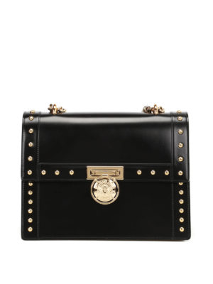 Balmain: shoulder bags - Bbox 28 smooth leather bag