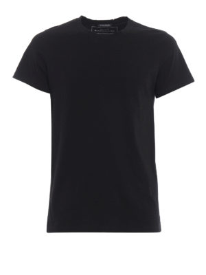 Balmain: t-shirts - Cotton jersey three-pack T-shirts