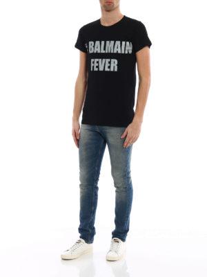 Balmain: t-shirts online - #Balmain Fever T-shirt
