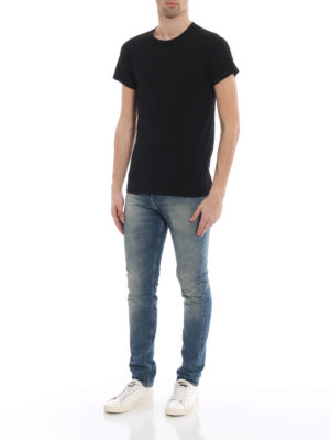 Balmain: t-shirts online - Cotton jersey three-pack T-shirts